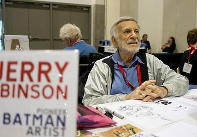 The Joker. Jerry Robinson created the Batman series character.