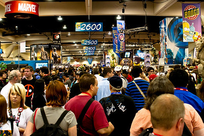 Exhibit Hall Crowd Day Four